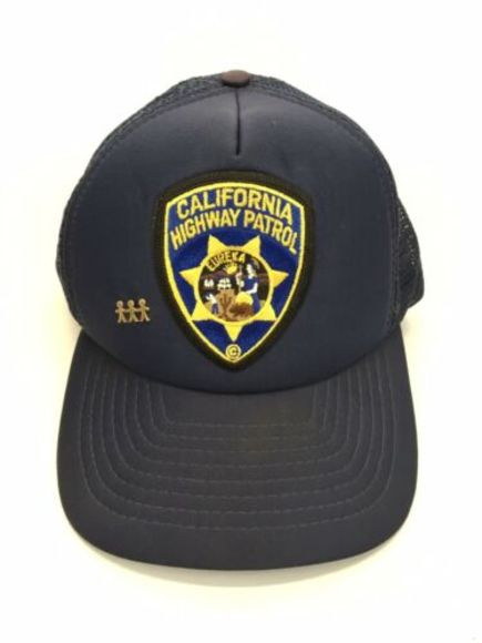 California Highway Patrol CHP Hat Blue Ball Cap
